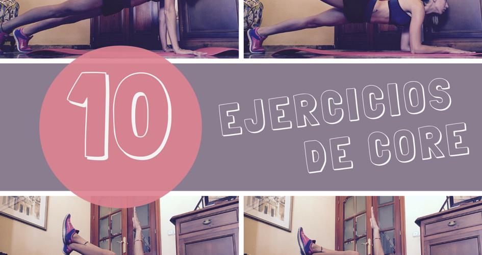 10 ejercicios de core Naturalfitgirl