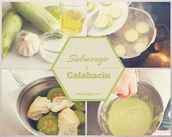 proceso salmorejo de calabacín