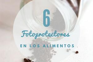 Alimentos que contienen fotoprotectores café