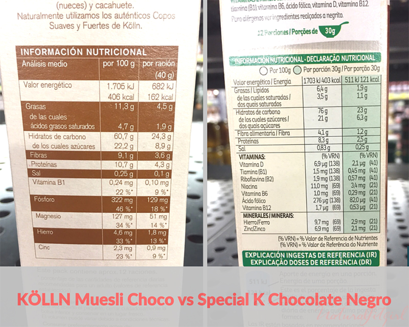 diferencias cereales