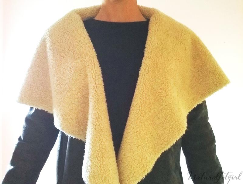 detalle solapa chaqueta forro borrego: tendencias 2015