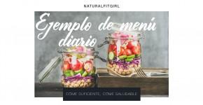Menú semanal saludable y alto en proteínas
