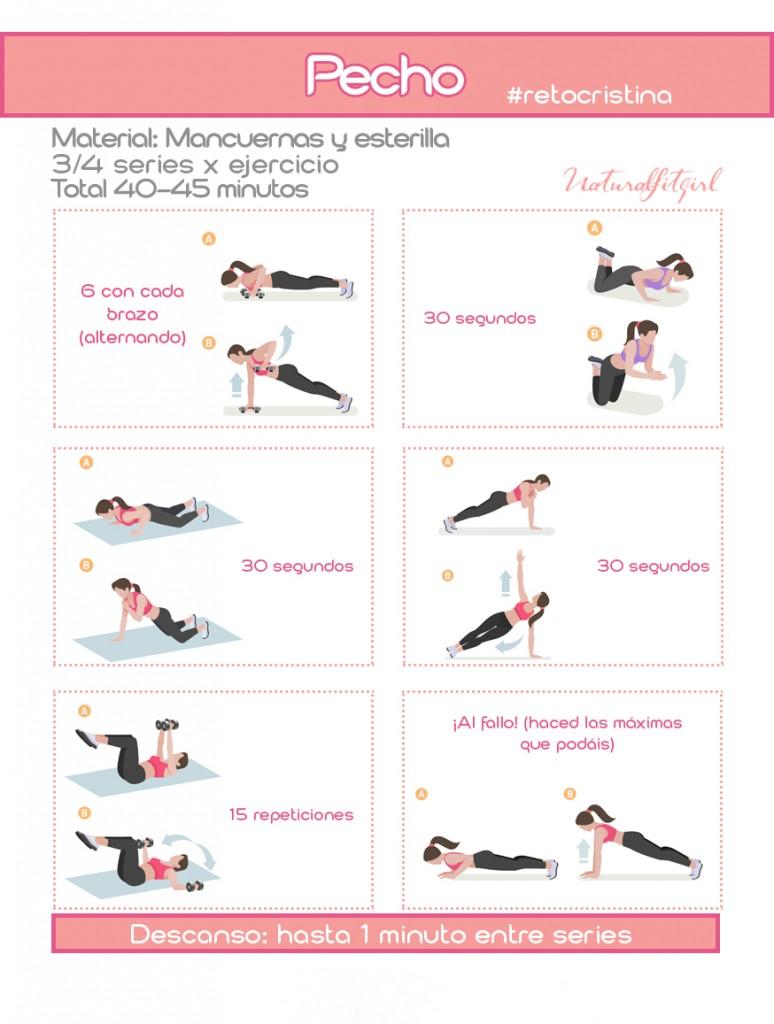 Rutina para entrenar en casa el cuerpo completo