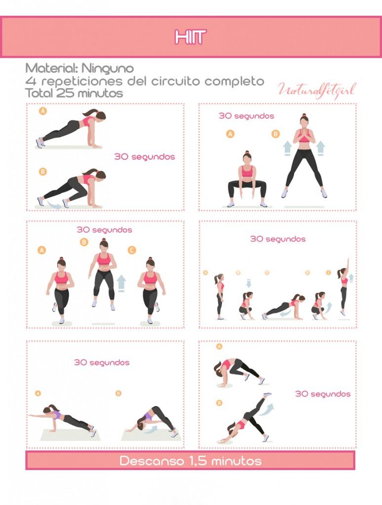 Rutina HIIT para eliminar la grasa abdominal