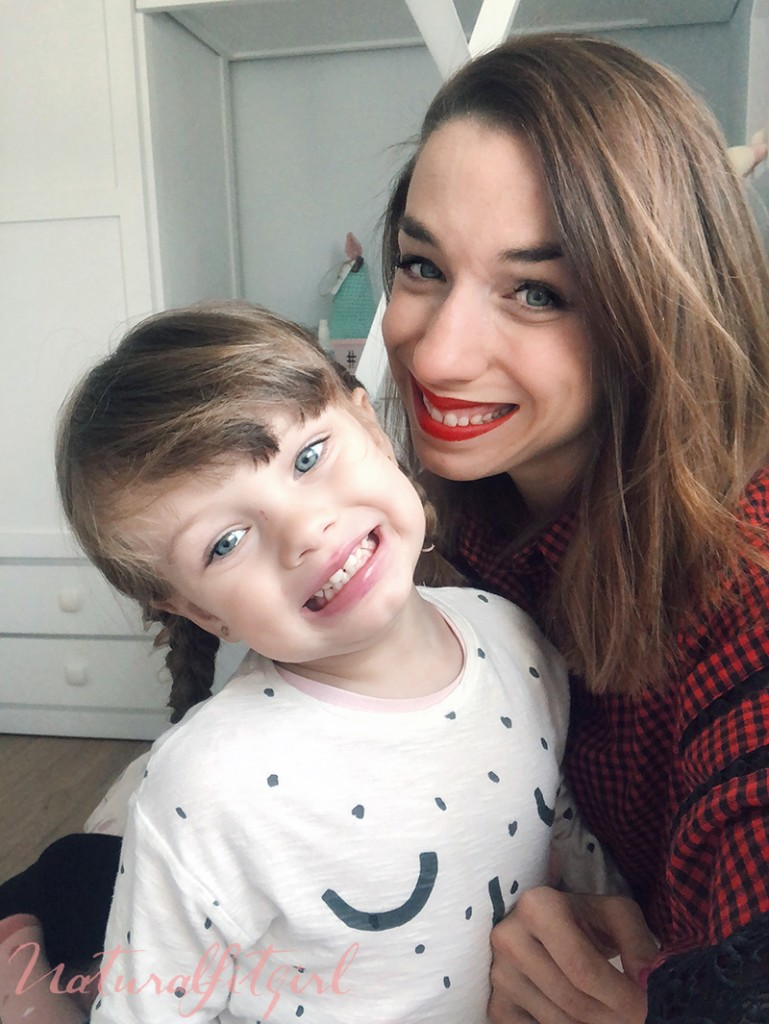 selfie de mama y marcela