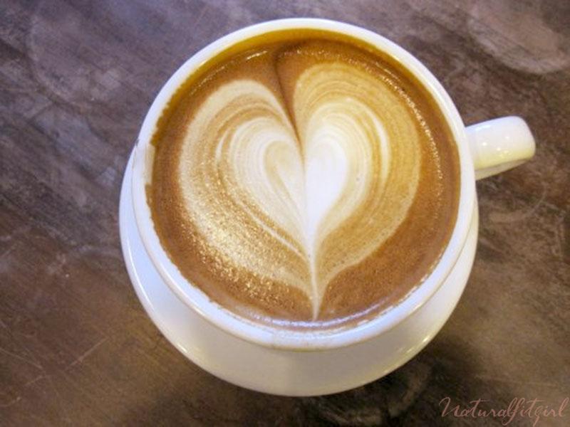 taza de café corazón