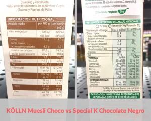 diferencias nutricionales entre cereales