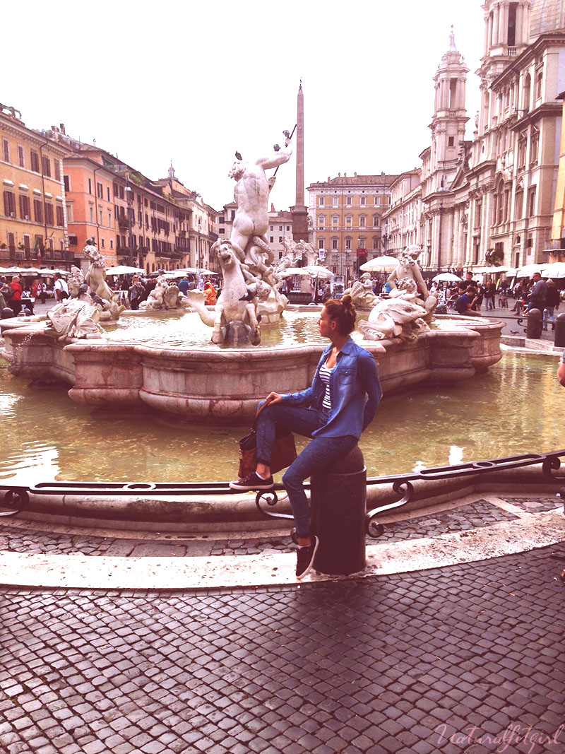 fuente plaza navona, Roma