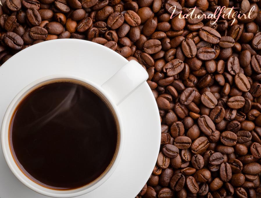Foto granos de café
