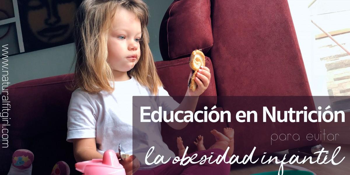 Educación en nutrición para evitar la obesidad infantil